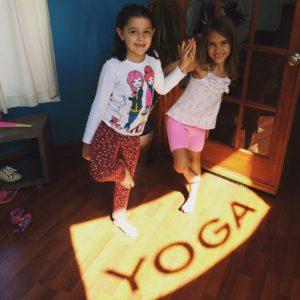 yoga sunlight